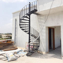 MS Outer Spiral Staircase