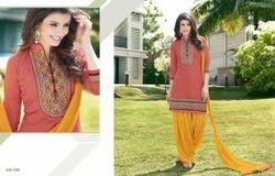 Designer Fancy Partywear Patiala Suit