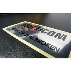 Metallic Sticker Printing Service