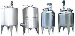 Stainless Steel Storage Tank With Stirrer