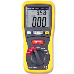 Metravi Brand Digital Earth Resistance Tester