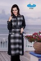 Black Woolen Long Kurtis
