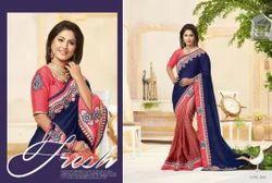 Designer Fancy Partywear Saree