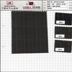 Cotton PU Fabric