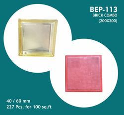 PVC Moulds For Brick Combo Flexi