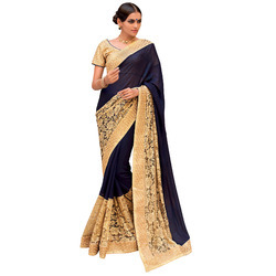 Russel Net Saree