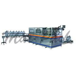 Jar Washing and Capping Machine