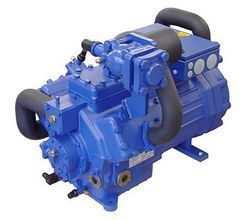 Heavy Duty Two Stage Refrigeration Compressor