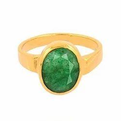 6.25ratti Emerald Ring/ Panna Stone
