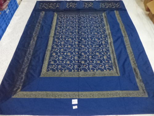 Embroidered Silk Bed Covers
