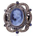 Designer Cameo Princess Women Ring