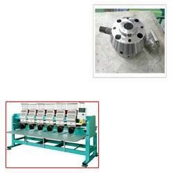 Hydraulic Clamping System for Embroidery Machine