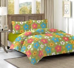 Cotton Bed Sheets With Pillow Covers