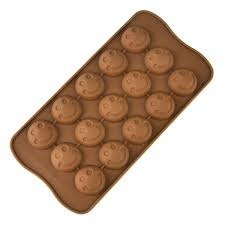 Silicone Smile Chocolate Mould