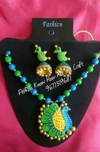 Terracotta jewellery making classes in madurai - Terracotta ...