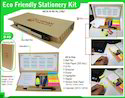 Eco Stickon Pad with Ball Pen MCN B-40