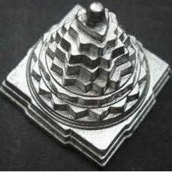 Parad (mercury) Made Solid Maha Meru Shree Yantra
