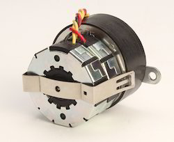 Reversible Muitistepped Geared Synchronous Motor