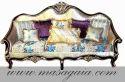 Elegant Wooden Sofa Set