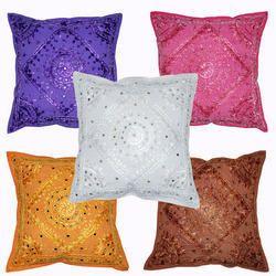 Multicolor Cushion Cover