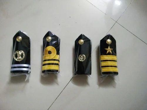 Naval Unifroms Epaulets Shoulder Badges Manufacturer