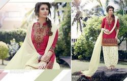 Fancy Designer Jolly Patiala Suit