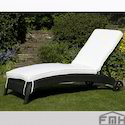 Outdoor Wicker Sun Lounger-Slide
