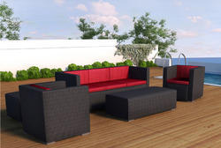 Garden Wicker Sofa