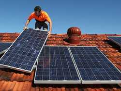 On Gird Solar System for Domestic Purpose