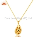 14K Gold Plated Sterling Silver Chain
