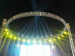 Iron Mild Steel Round Stage Truss