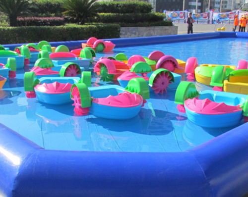 Kids Plastic Paddle Boat Manufacturer From Ahmedabad