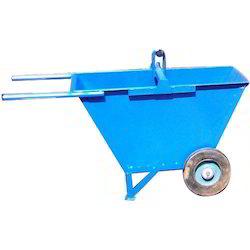 Dust Bin Trolley Double Wheel Barrow