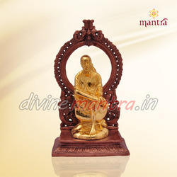 Gold Plated Saibaba