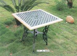 Cast Iron Garden Table