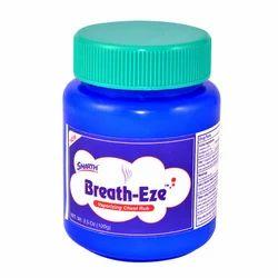 Breath-Eze Vaporizing Chest Rub 3.5 Oz (100g)