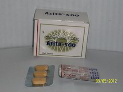 Azithromycin for soft tissue infection in the mouth