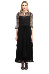 Fit And Flare Women Maxi Dress