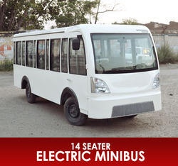 14 seater battery operated minibus electric bus