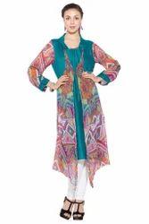Bollywood Designer Styling Printed Long Kurti