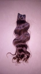Human Hair From Indian Temple 100% Raw And Natural
