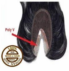 Human Hair Closure - V Type