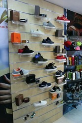 Shoes Display Panel Rack