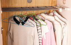 Wardrobe Cabinet Fixing Screws Stainless Steel Storage Rack