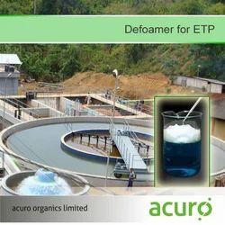 Defoamer for ETP