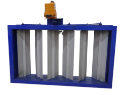 Pneumatically Operated Multi Louver Damper
