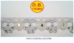 Fancy Diamond Cutwork Lace