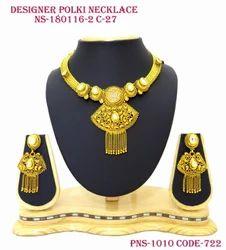 Designer C.Z. Necklace Set
