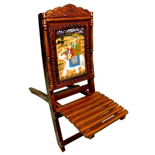Home Decor Products Wooden Chair Exporter From Jaipur
