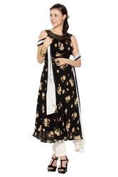 Indo Western style Designer Party wear Long Kurti Suit